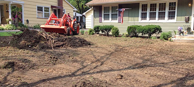Excavation Grading Erosion Control South Jersey (Burlington Mercer Camden County NJ)