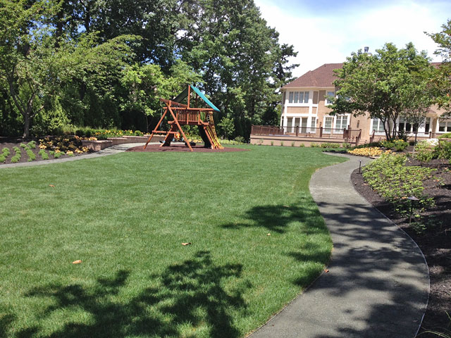 Finish Grading and Sod Installation